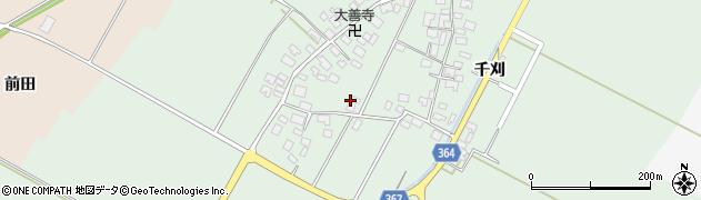 山形県酒田市漆曽根四合田106周辺の地図