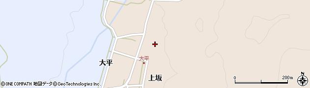 山形県酒田市生石上坂142周辺の地図