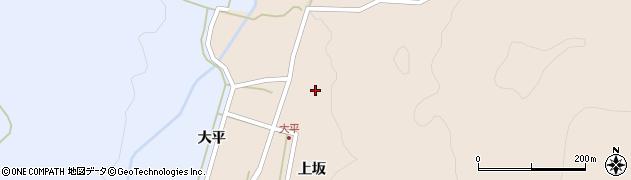 山形県酒田市生石上坂周辺の地図