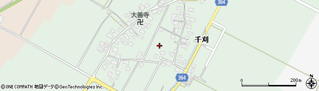 山形県酒田市漆曽根四合田69周辺の地図