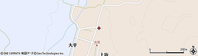 山形県酒田市生石上坂144周辺の地図