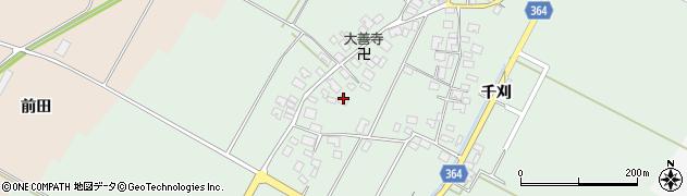 山形県酒田市漆曽根四合田112周辺の地図