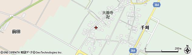 山形県酒田市漆曽根四合田110周辺の地図