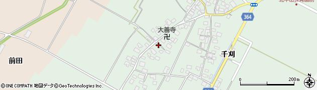 山形県酒田市漆曽根四合田122周辺の地図
