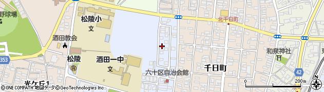 山形県酒田市住吉町7周辺の地図