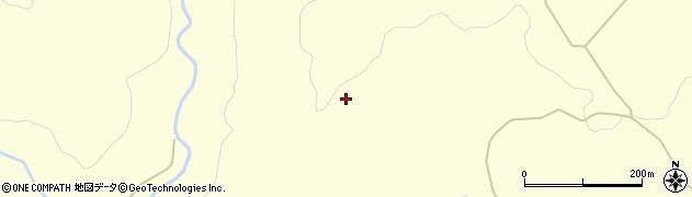 山形県酒田市北俣崩清水周辺の地図