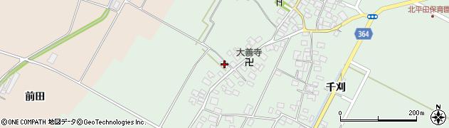 山形県酒田市漆曽根四合田175周辺の地図