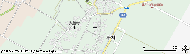 山形県酒田市漆曽根四合田46周辺の地図
