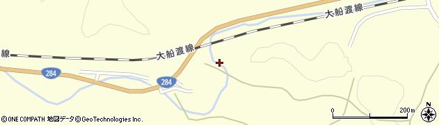 岩手県一関市千厩町清田境周辺の地図