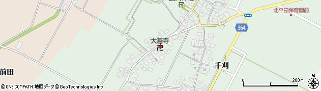 山形県酒田市漆曽根四合田129周辺の地図