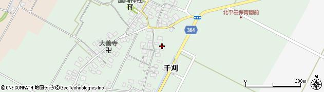 山形県酒田市漆曽根四合田19周辺の地図