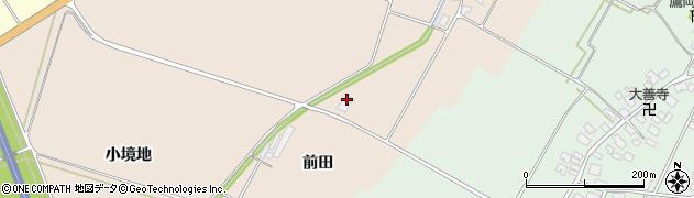 山形県酒田市中野曽根前田170周辺の地図