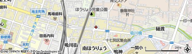 岩手県一関市五十人町周辺の地図