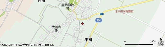 山形県酒田市漆曽根四合田18周辺の地図