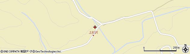 山形県最上郡金山町中田294周辺の地図