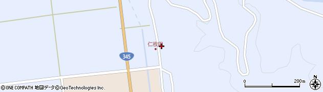 山形県酒田市北沢野手南1周辺の地図