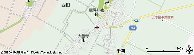 山形県酒田市漆曽根腰廻4周辺の地図