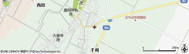 山形県酒田市漆曽根四合田7周辺の地図