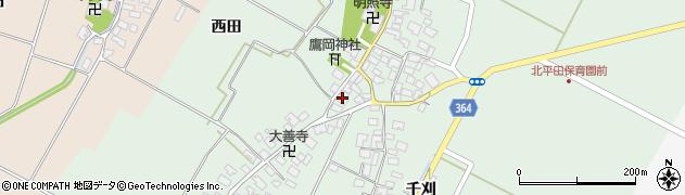 山形県酒田市漆曽根腰廻5周辺の地図