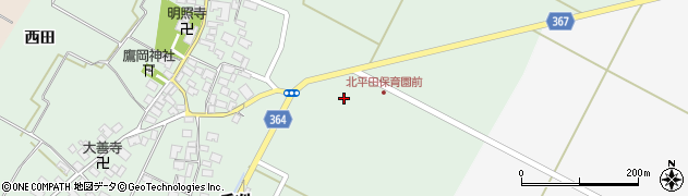 山形県酒田市漆曽根千刈13周辺の地図