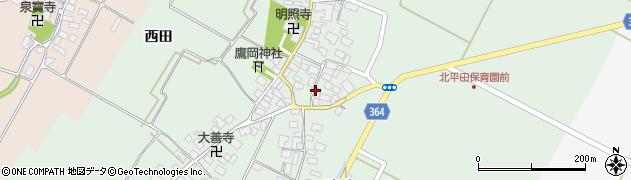 山形県酒田市漆曽根腰廻15周辺の地図