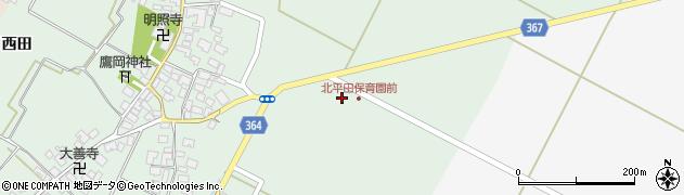 山形県酒田市漆曽根千刈10周辺の地図