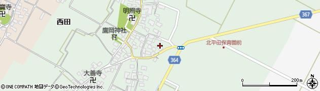山形県酒田市漆曽根腰廻18周辺の地図