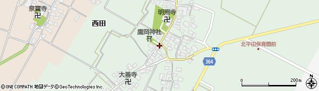 山形県酒田市漆曽根腰廻12周辺の地図