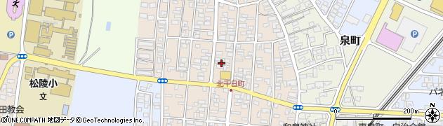 山形県酒田市北千日町10周辺の地図