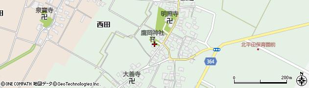 山形県酒田市漆曽根腰廻282周辺の地図