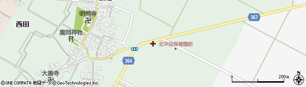 山形県酒田市漆曽根千刈16周辺の地図