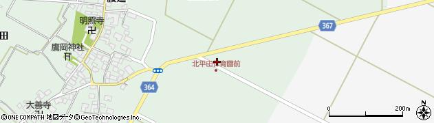 山形県酒田市漆曽根千刈5周辺の地図