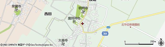 山形県酒田市漆曽根腰廻13周辺の地図