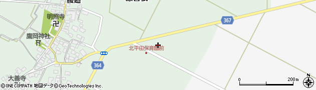 山形県酒田市漆曽根千刈3周辺の地図