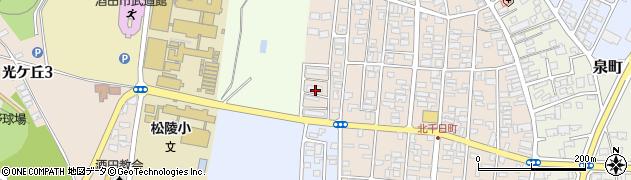 山形県酒田市北千日町19周辺の地図