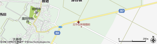 山形県酒田市漆曽根千刈7周辺の地図