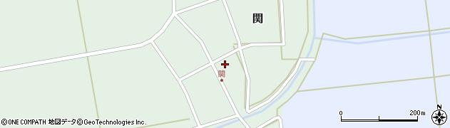 山形県酒田市関村の内81周辺の地図