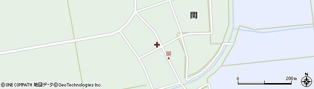 山形県酒田市関村の内103周辺の地図