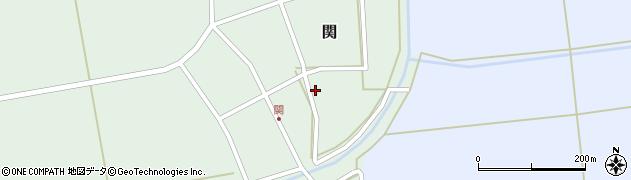 山形県酒田市関村の内59周辺の地図