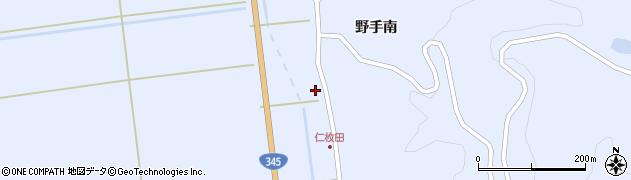 山形県酒田市北沢鍋倉464周辺の地図