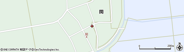 山形県酒田市関村の内84周辺の地図