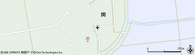 山形県酒田市関村の内56周辺の地図