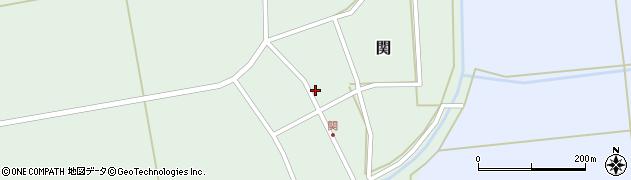 山形県酒田市関村の内102周辺の地図