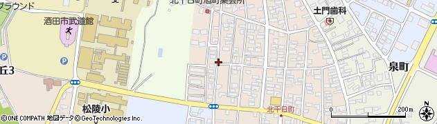 山形県酒田市北千日町15周辺の地図