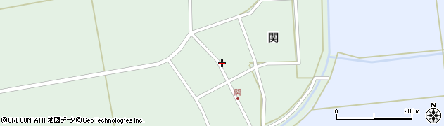 山形県酒田市関村の内99周辺の地図