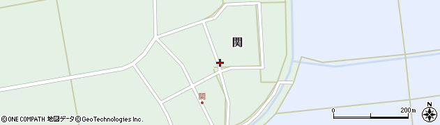 山形県酒田市関村の内55周辺の地図