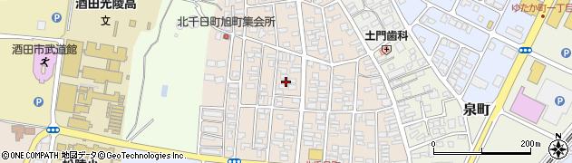 山形県酒田市北千日町12周辺の地図