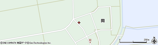 山形県酒田市関村の内34周辺の地図
