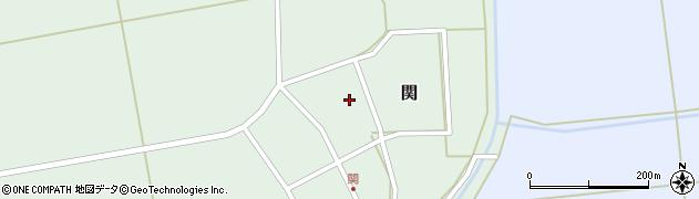 山形県酒田市関村の内89周辺の地図