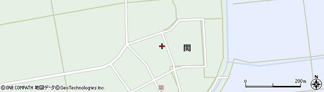 山形県酒田市関村の内91周辺の地図